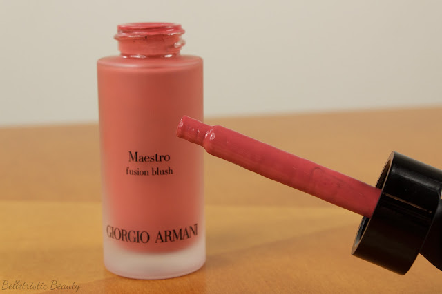 Giorgio Armani #500 Nude Pink Maestro Liquid Fusion Blush, Maestro Mediterranea Collection, Summer 2014 in studio lighting