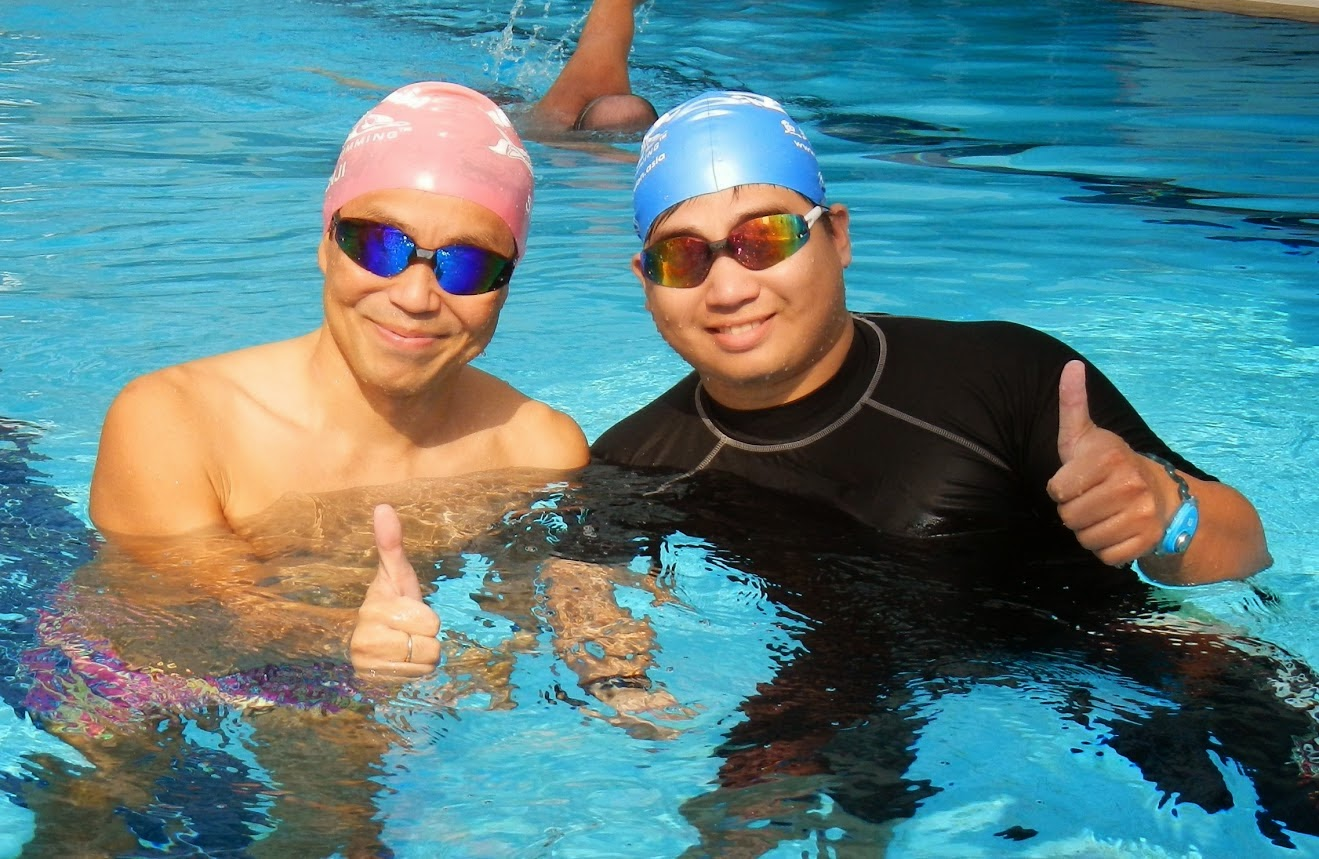 與超級教練竹內經典同步游泳