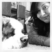 Me and my St Bernard