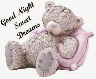 Good night teddy | good night sms