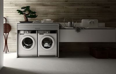 C mo decorar un cuarto para la ropa kansei cocinas for Diseno lavadero