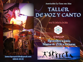 TALLER GRUPAL DE VOZ Y CANTO