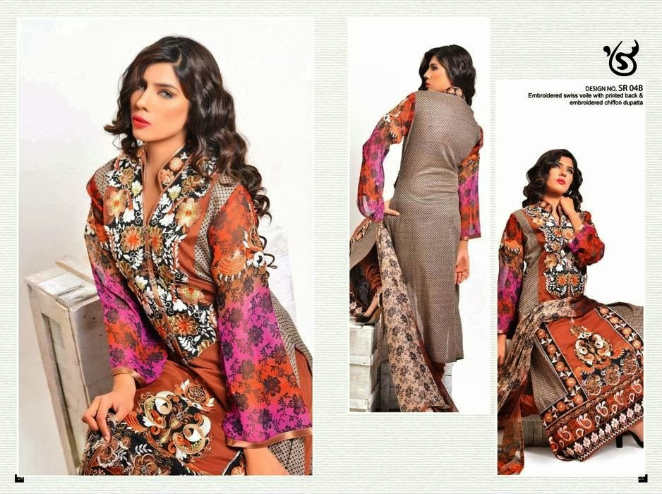 Gorgeous Lawn Collection 2014