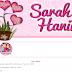 Tempahan Design Blog Sarah Hanim