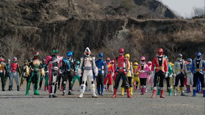 Super Sentai x Space Sheriffs: Super Hero Taisen Z Coming this 2013