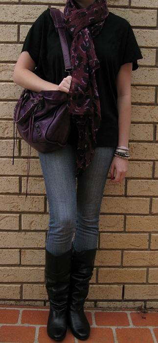 Grey Blazer Jeans Brown Shoes