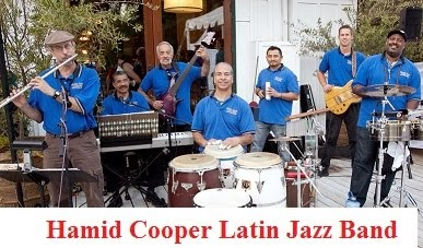 Introducing Hamid Cooper Latin Jazz Band