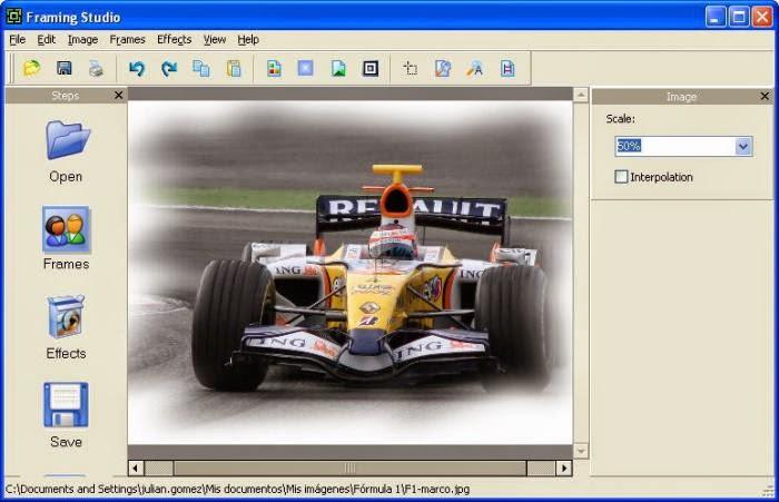 برنامج framing studio 2014 للتعديل على الصور واضافة الاطارات اخر اصدار