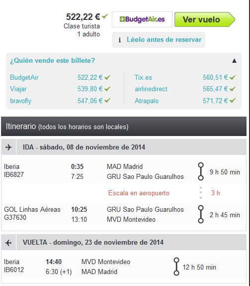 Montevideo barato