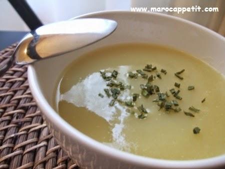 Soupe aux poireaux et pommes de terre | Soup with leeks and potatoes