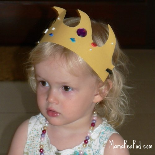 mermaid birthday party jewelled crowns
