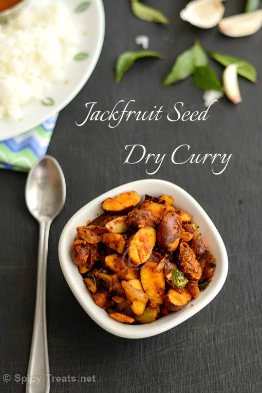 Jackfruit Seed Dry Curry Recipe