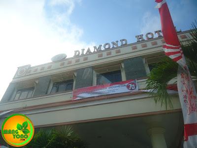 Hotel Diamond, Samarinda, Kalimantan Timur.
