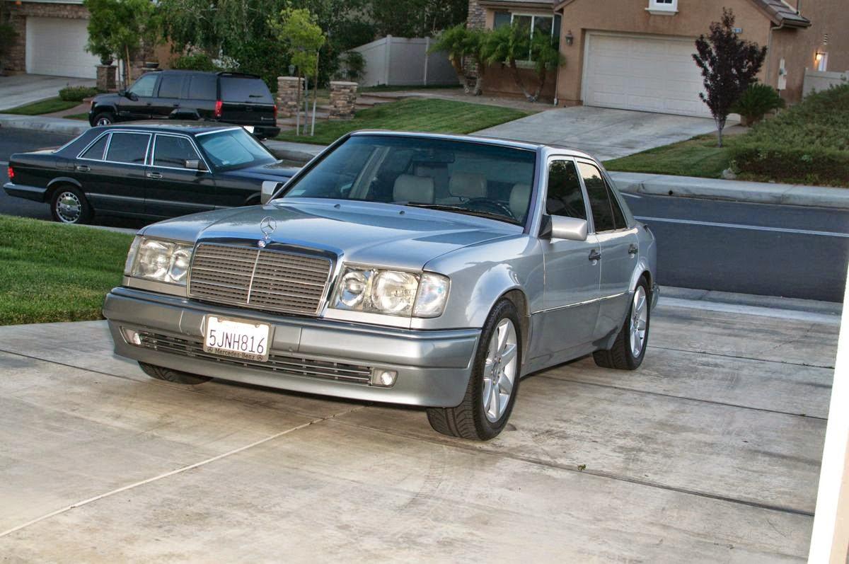 500e silver 1993 mercedes w124