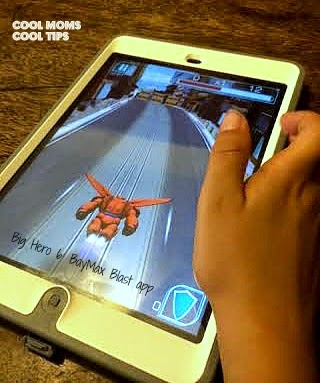 cool moms cool tips Big Hero 6 app in use