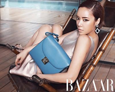 Hwang Jung Eum - Harper's Bazaar Magazine June Issue 2013