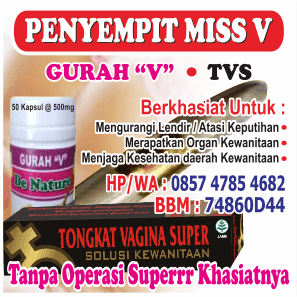 Penyempit / Perapat Miss V TVS dan Gurah V