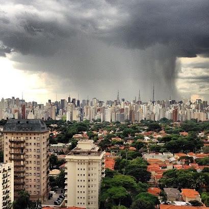 """Hoje """" chuveu"""""""