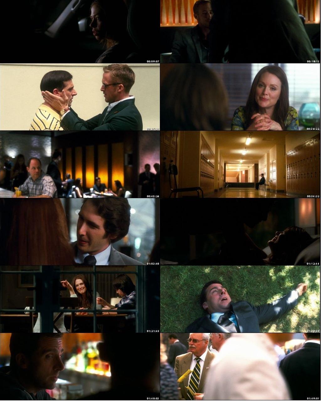Screen Shot Of Crazy Stupid Love 2011 In Hindi English Dual Audio Bluray