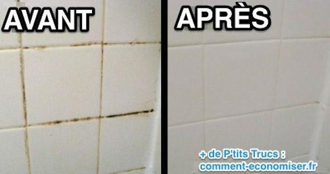 Astuces grand m re pour nettoyer vos joints de salle de for Nettoyer joint salle de bain