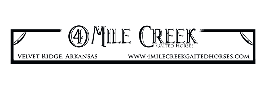 4 Mile Creek Gaited Horses