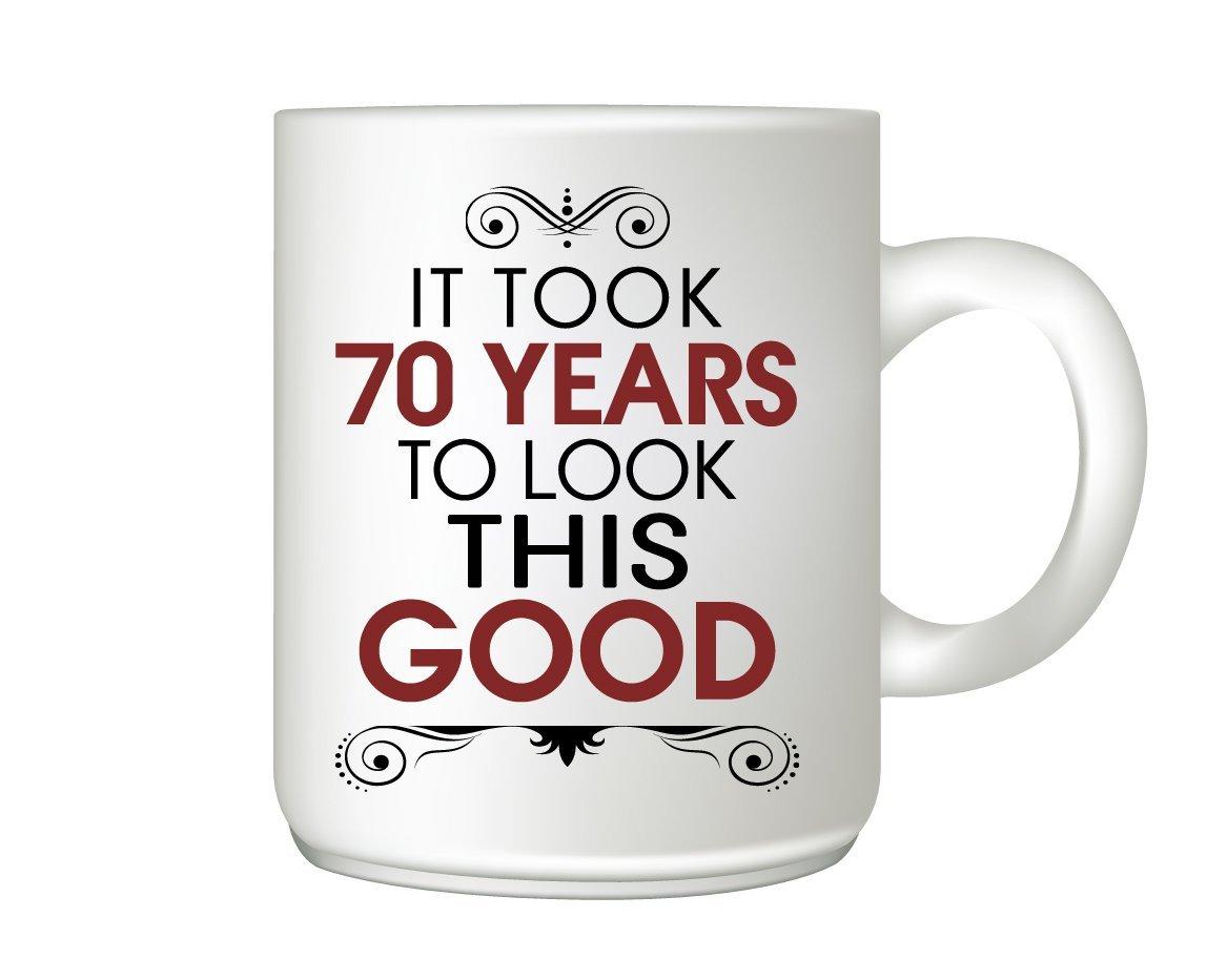 70th Birthday Mug Gift