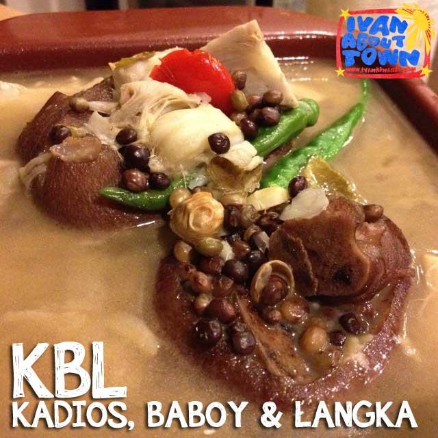 KBL (Kadios, Baboy and Langka) Iloilo
