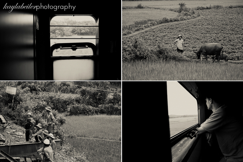 train through vietnam photo