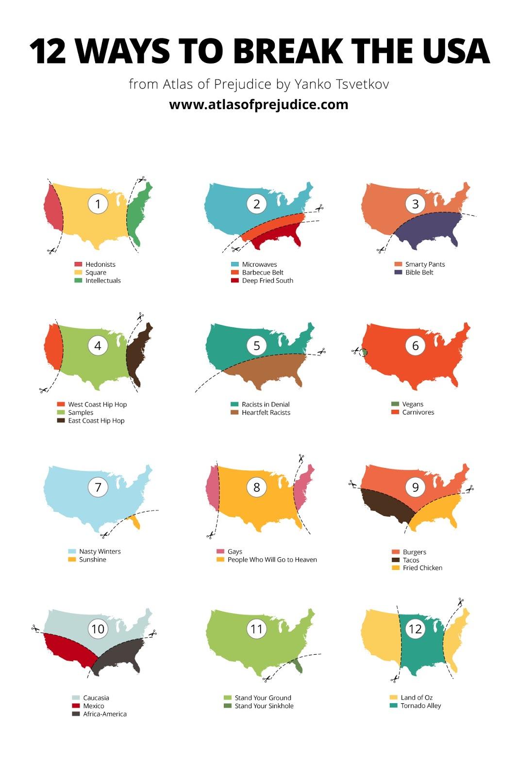 12 Ways to break the USA