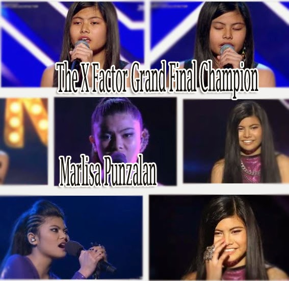 A Filipino Teen Marlisa Punzalan Grand Winner in 'The X Factor Australia Edition'