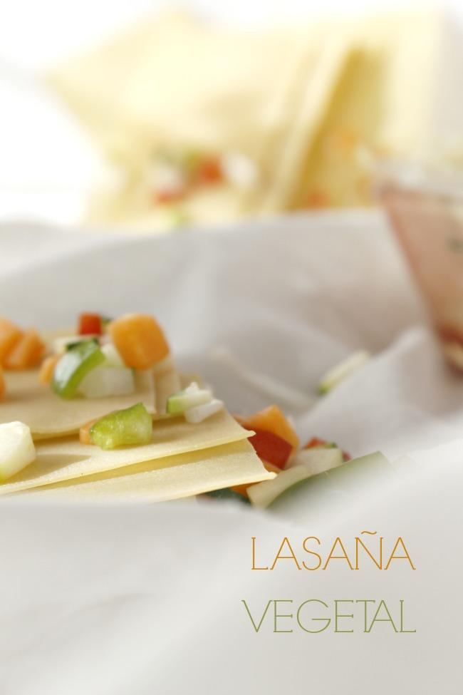 Lasaña vegetal. http://www.maraengredos.com/