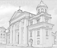 город Могилев Костел Святого Станислава город Могиелев