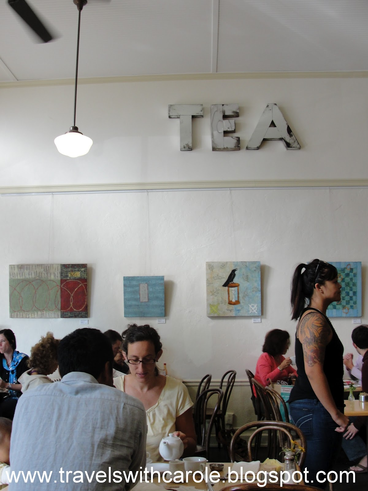 Tea Room Cafe Petaluma