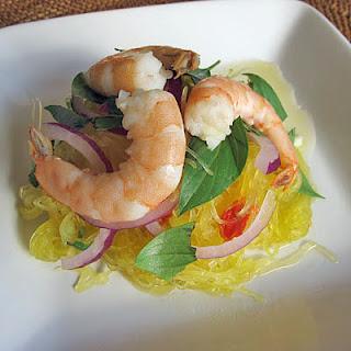 Thai-style Spaghetti Squash Salad