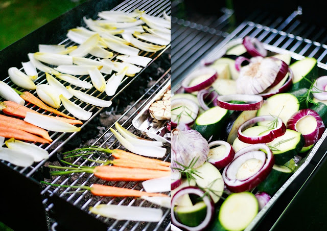 warsztaty w Villa Foksal , grill dla blogerów kulinarnych