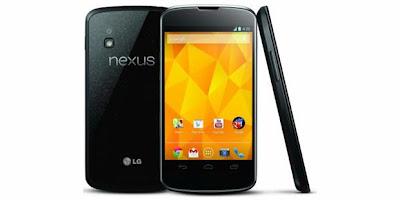 Spesifikasi Google LG Nexus 4
