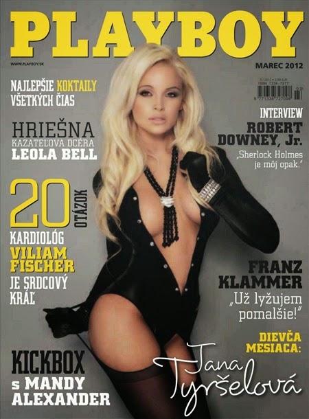 Jana Tyrselová – Playboy Slovakia