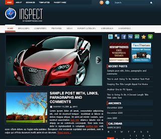 WordPress-Template Inspect