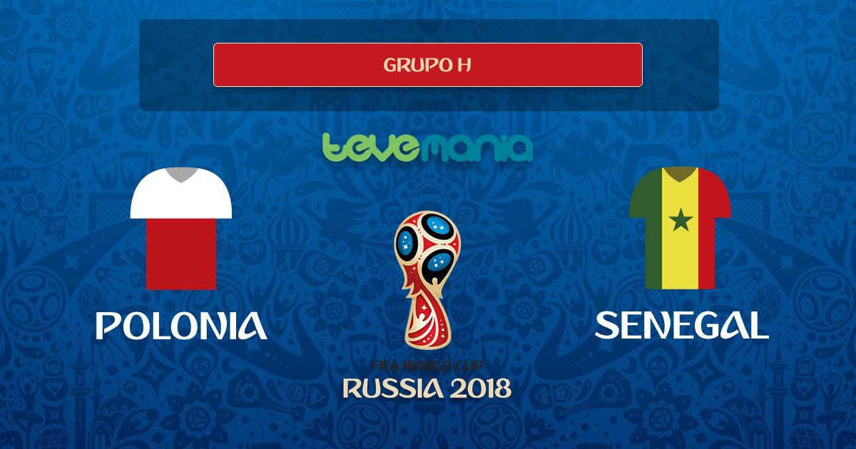 Senegal ganó 2 por 1 a Polonia y es puntero del Grupo H