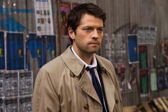 Castiel de Sobrenatural interpretado por Misha Collins