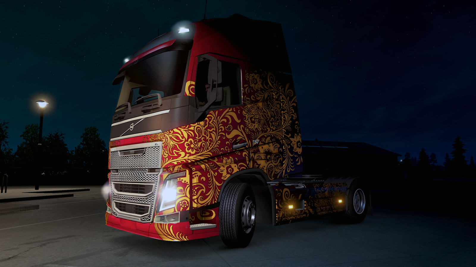 Russian paint jobs pack dlc ets2 mods for The russian mod