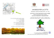 Un bosco per la Città, finalmente una buona notizia ?