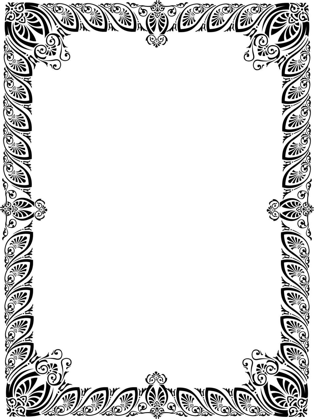Frame Sertifikat Vector Pic #16