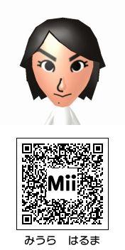 三浦春馬のMii QRコード トモダチコレクション新生活