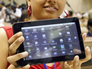 President launches low cost Aakash-2 tablet at Rs 1,130
