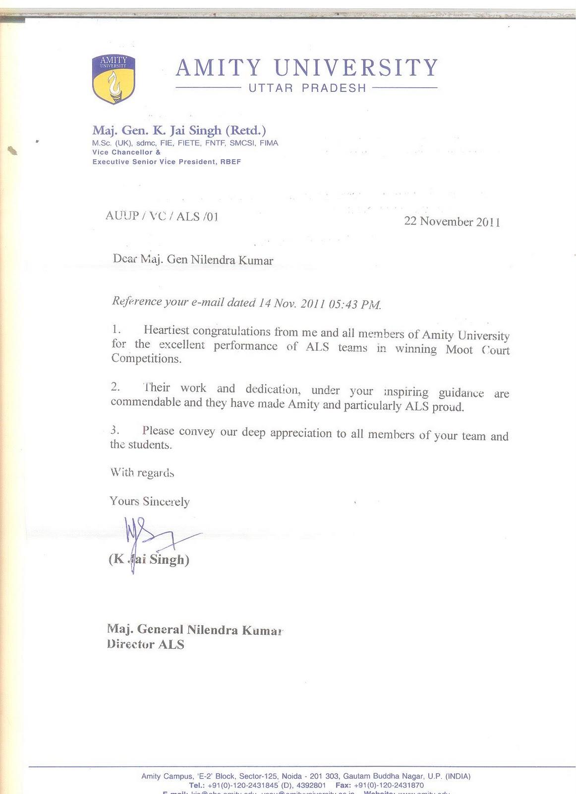 letter appreciation letter
