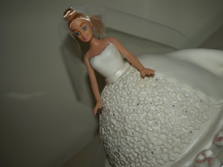 Tarta Barbie Novia
