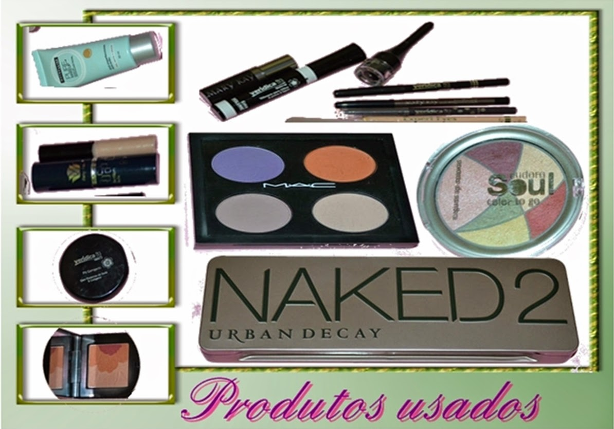 Somando Beleza-Neiva Marins,Tutorial, Makes, Blog, Mac, Naked2,Eudora, Maybelline