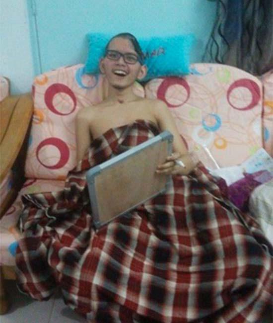 Cedera Parah di Otak, Pelajar Tahfiz Hafal 11 Juzuk Ini Masih Mampu Tersenyum
