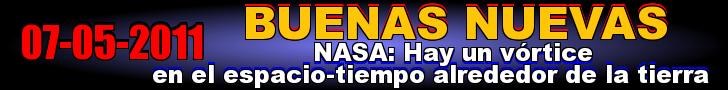 NASA: Hay un vórtice en el espacio-tiempo alrededor de la tierra